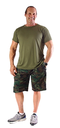 Style 510P Camo Baggy Shorts