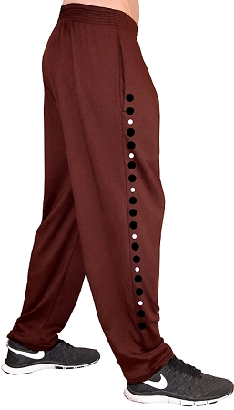 Style 500 Classic Brown/Black/White Universal Designed Relaxed Fit Soft Baggy Pants For Men And Women