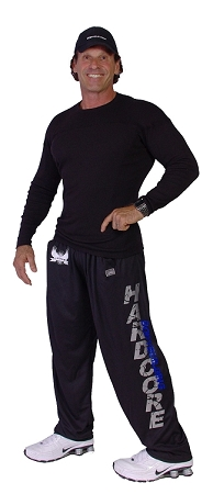 micro fiber pants (brand new to our selection) 600MP (black with Silver Hardcore/Blue Bodybuilding )