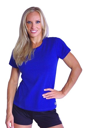 Style 380 Womens Blue Top