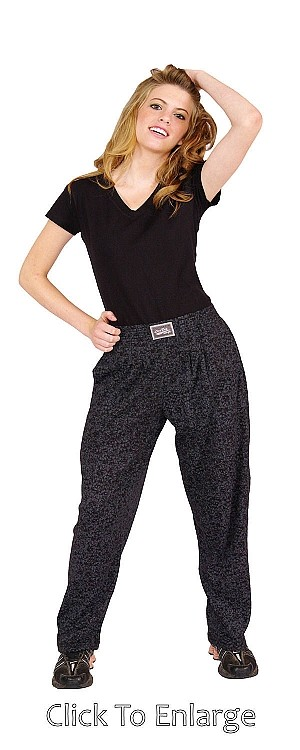 Style 500 Classic Diamond in Rough Relaxed Fir Baggy Pants For Men And Women