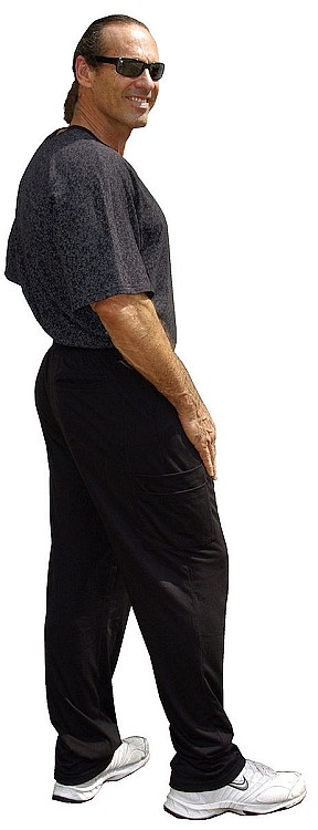 Crazeewear MSP800 Black Cargo Scrub Pants -