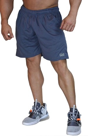 Style 600MS grey Micro blend training shorts
